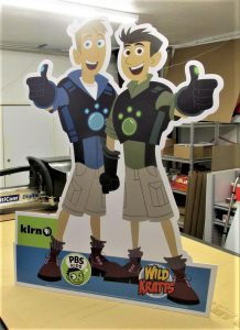 promotional sign standing cutouts